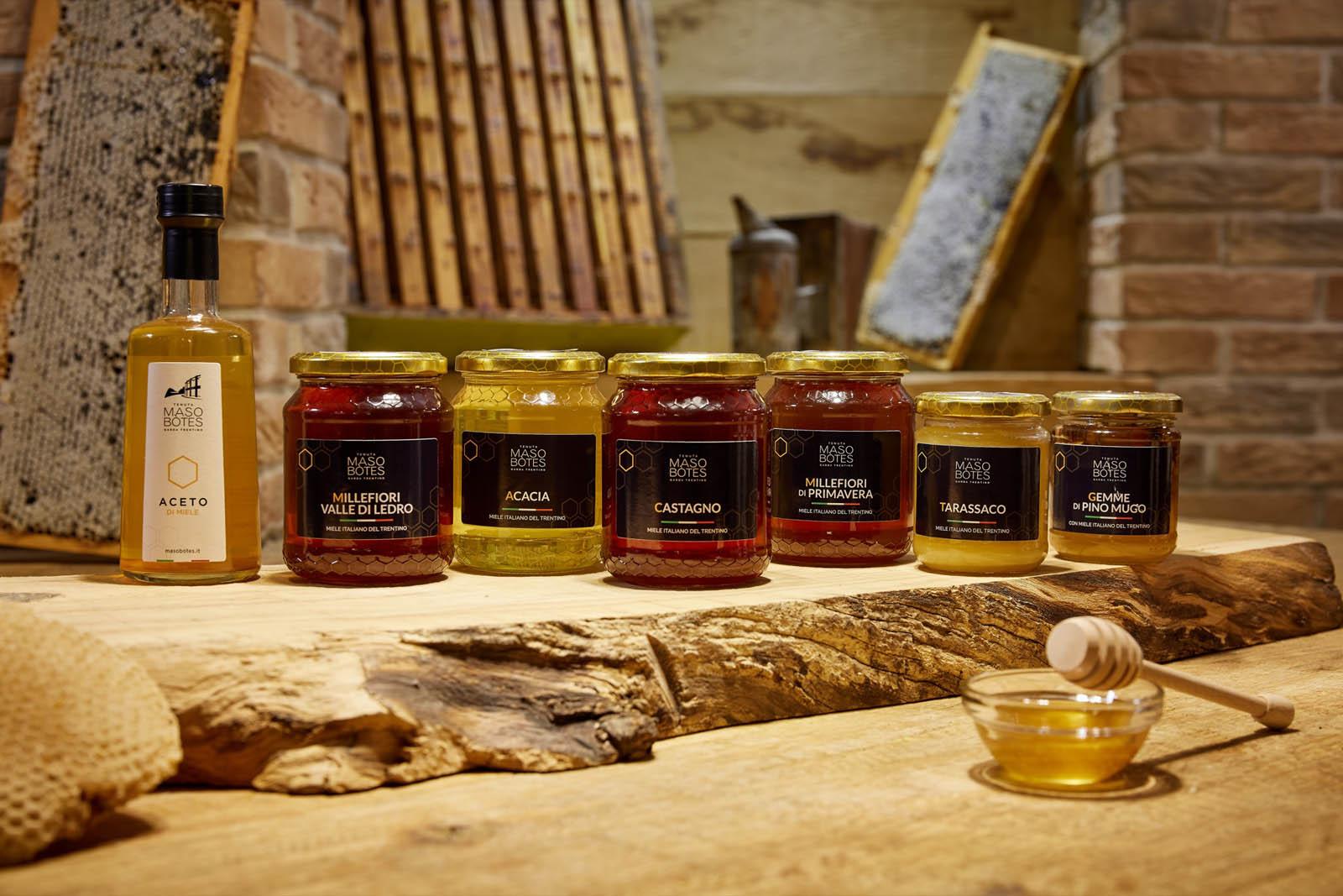 Maso Botes - Mieli del Trentino e Aceto di Miele