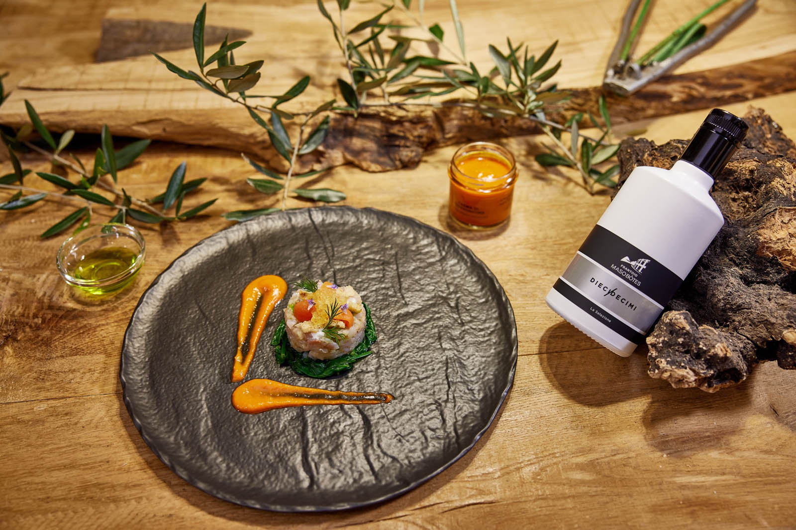 Maso Botes DieciDecimi - Olio Extravergine di oliva Biologico Monocultivar Casaliva